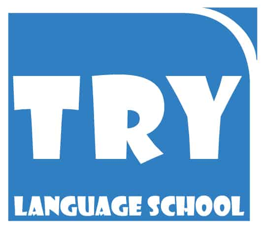 TRYcamps Language School logo